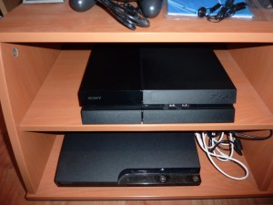 PS4 and PS3